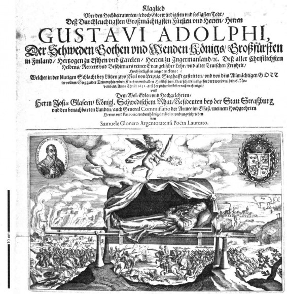 Klaglied über den Tod Gustav Adolfs 1632