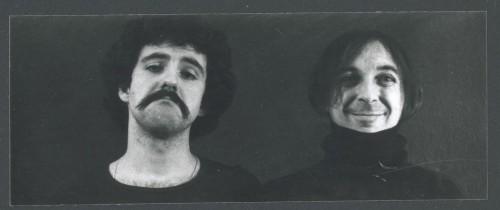 Patrick Bousquet et Michel Jaffrennou (vers 1978) - Photographie : Patrick Bousquet - Bibliothèque nationale de France / Fonds Michel Jaffrennou