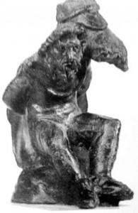 Statuette de Bavay.