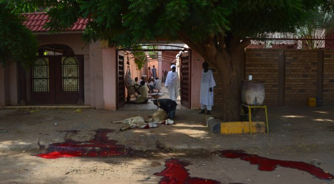 PUBLICATION – Blood and the City, Animal Representations and Urban (Dis)orders during the 'Feast of the Sacrifice' in Istanbul and Khartoum, by Alice Franck, Jean Gardin and Olivier Givre