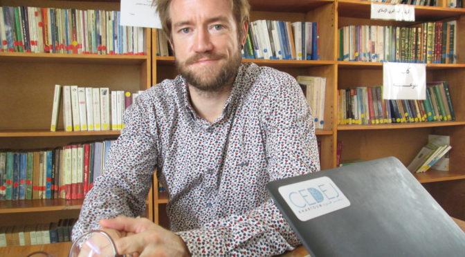 Dr. Jean-Nicolas Bach, Coordinateur du CEDEJ Khartoum