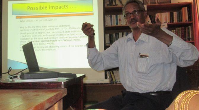Seminar – by Prof. Atta El-Battahani: «Post-US Sanction Sudan: Which Way?»