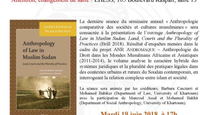 Seminar Paris 8