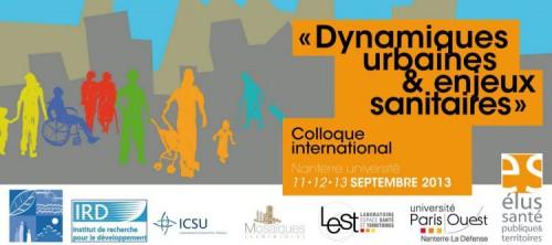 conférence dynamique urbaines