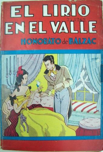 Fig. 4: Couverture de El lirio en el valle, illustr. de Palau, Buenos Aires, Tor, 1946. (Biblioteca Nacional de la República Argentina)(Biblioteca Nacional de la República Argentina)