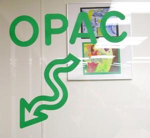 Signalétique de l'OPAC, (publié sur FlickR sous le pseudonyme d'Enokson, sous licence Creative Commons, Attribution)