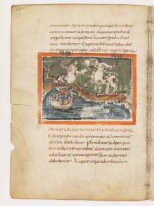 Siren and onocentaur. Bern, Burgerbibliothek, MS 318, fol. 13v, at www.e-codices.unifr.ch.
