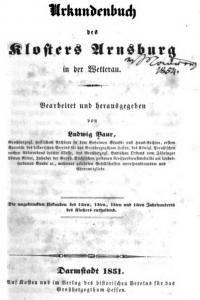 040-Arnsburger Urkundenbuch