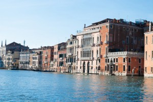 Palazzo Barbarigo della Terrazza, vom Canal Grande aus gesehen (Foto: Claudia Schmitz-Esser)
