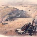 Les corps de soldats de la Grande Armée tués lors de la bataille de Borodino en 1812, de Christian Wilhelm von Faber du Faur