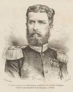 Erbrinz Leopold von Hohenzollern (aus FAS HS 1-80 T 7  53,73 a)