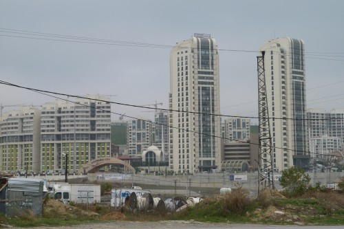 Une entrée de Bosphorus city
