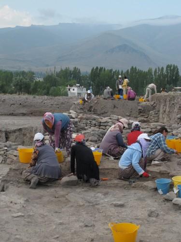 Fouille des niveaux Chalcolithiques (6000 BC cal.), Tepecik-Çiftlik, 2015