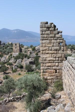 Tours d'Héraclée du Latmos, juillet 2009, Latmos'taki (Beşparmak Dağı) Herakleia kaleleri, Temmuz 2009, Jesper Blid