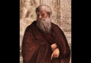 Plotin, détail de l'Ecole d'Athènes.