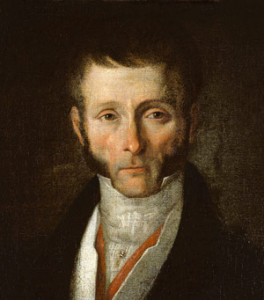 Joseph Fouché, Duc de Otrante, Gemälde vor 1829 [Bild: von École française [Public domain], via Wikimedia Commons; URL: http://www.myartprints.co.uk/kunst/french_school/school_portrait_of.jpg].