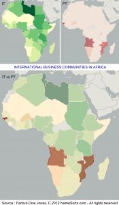 Onomastique: Italiens et Portugais en Afrique