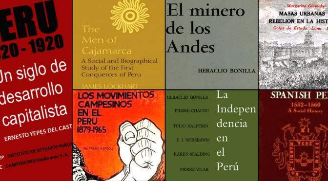 Heraclio Bonilla. El nuevo perfil de la Historia del Perú (1980)