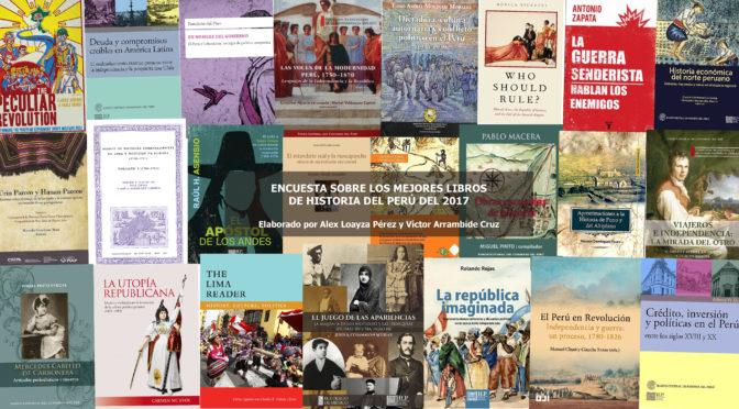 Los más importantes libros de historia del Perú del 2017