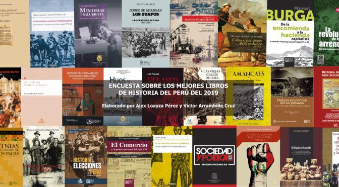 LOS MÁS IMPORTANTES (O POPULARES) LIBROS DE HISTORIA DEL PERÚ DEL 2019