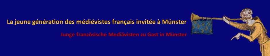 La jeune génération des médiévistes français invitée à Münster