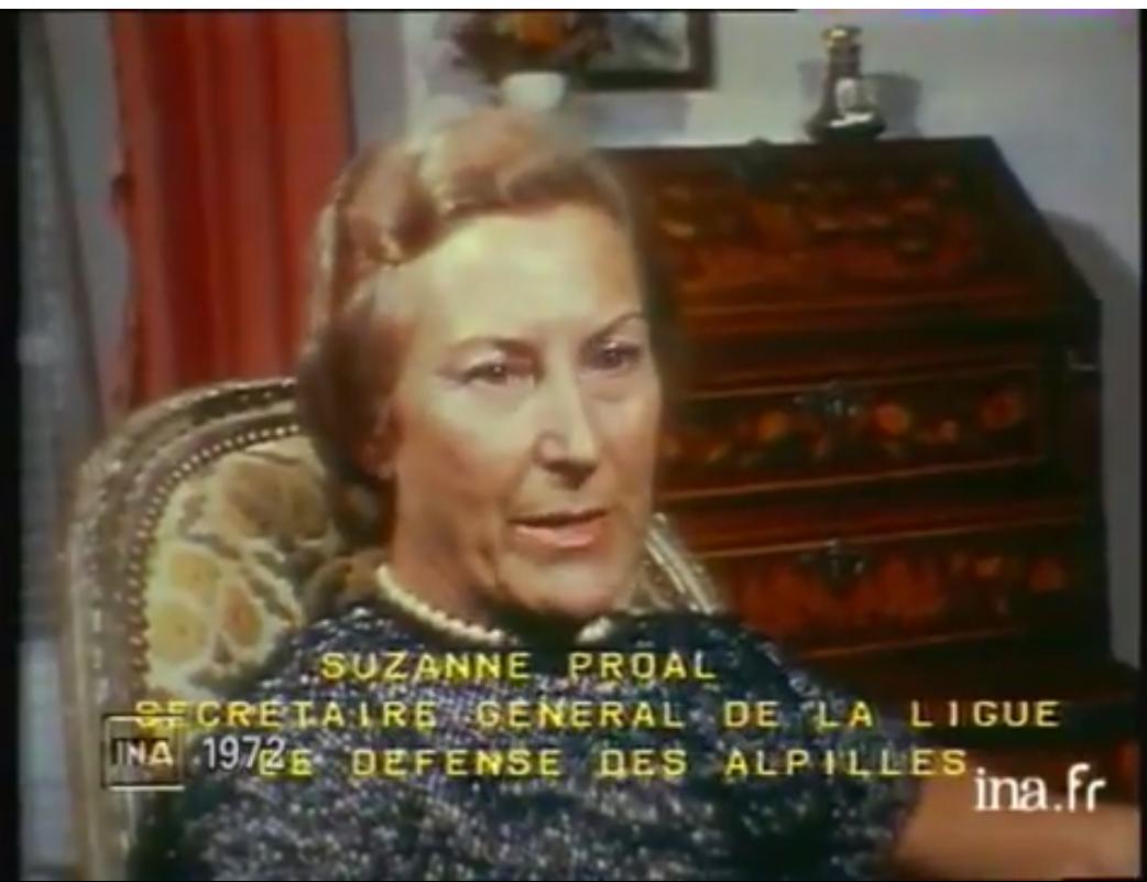 Archive rediffusée dans l'émission La France défigurée vingt ans après 27/08/1995