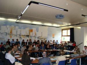 La salle Paul-Albert Février, le 18 septembre 2008