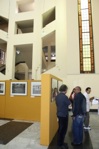 Exposition photographique dans le hall de la Bibliothèque nationale de Colombie (22-25 septembre 2009, Bogotá, Colombie)