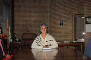 Sara González, directrice des archives nationales de Colombie