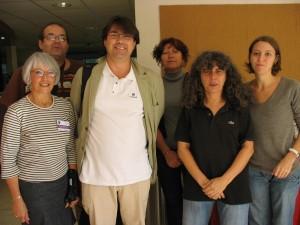 Une partie du comité de pilotage des FREDOC 2009