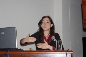 Intervention d'Isabel Garcia-Longe  : Catalogo collectivo  bibliográfico español (22-25 septembre 2009, Bogotá, Colombie)