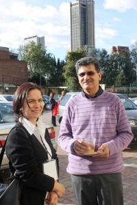 Jaime Quevedo, directeur du centre de documentation musicale à la Bibliothèque nationale de Colombie  (22-25 septembre 2009, Bogotá, Colombie)