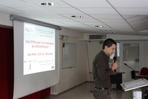 Raphaël Tournoy, Institut des sciences de l'homme, Lyon