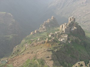 villages du djebel Harraz, Yémen