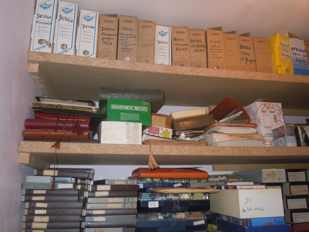 Archives de JP Rothiot : dossiers et cassettes