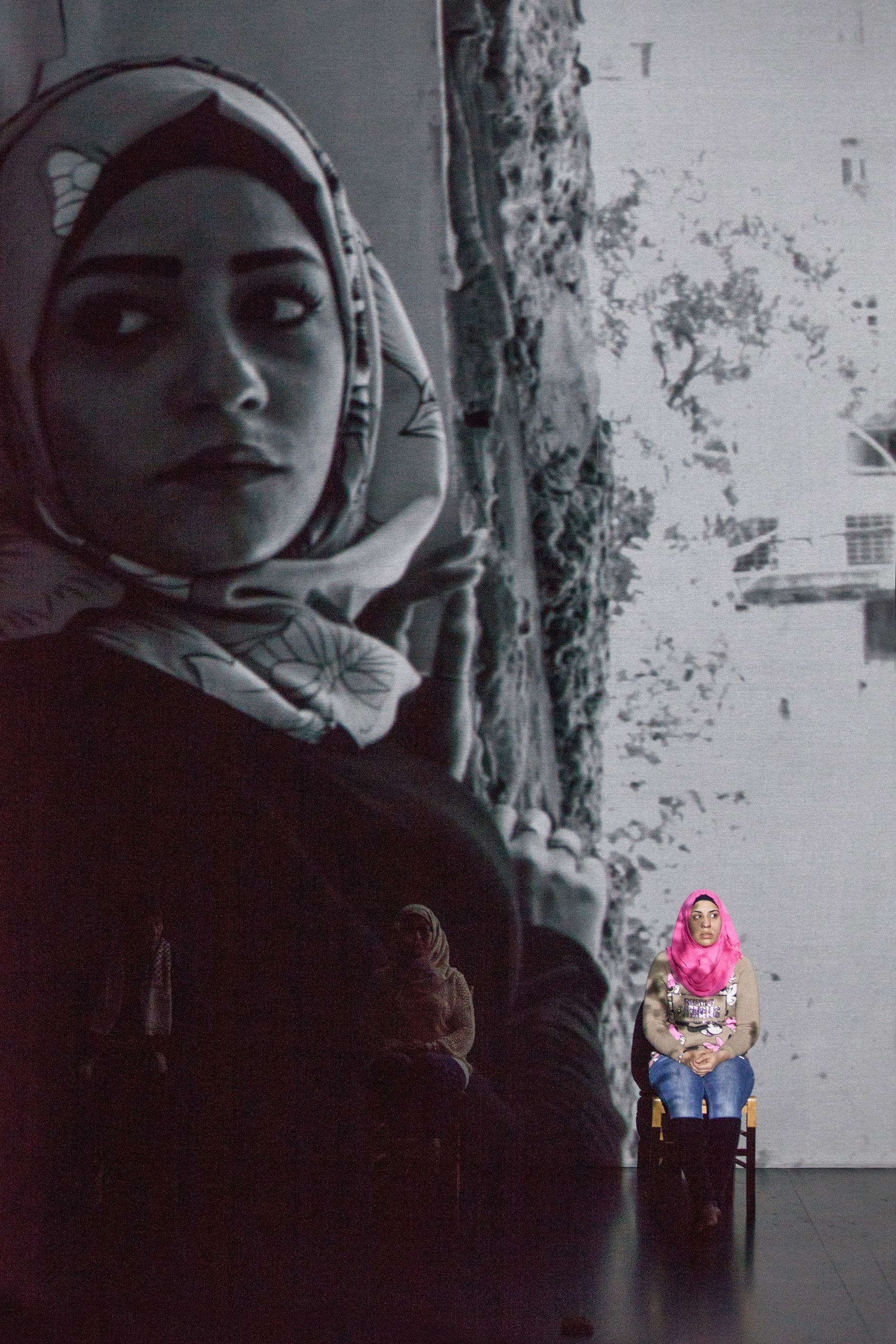 Antigone of Shatila@Didier Nadeau0057