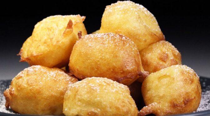 La recette du mois :  les beignets dits «cougassons» ou «pets de nonne».