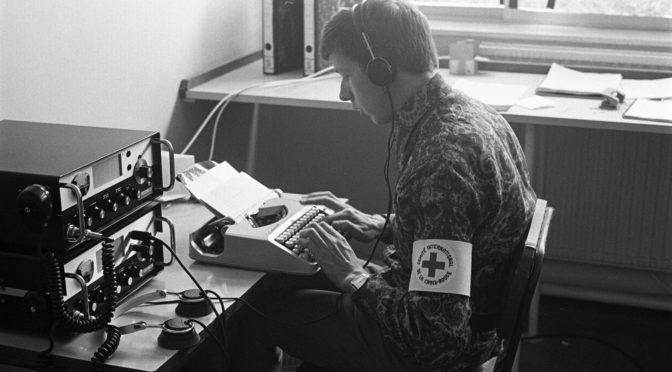 Préparer l'action humanitaire: à la découverte des archives sonores en langue arabe du CICR