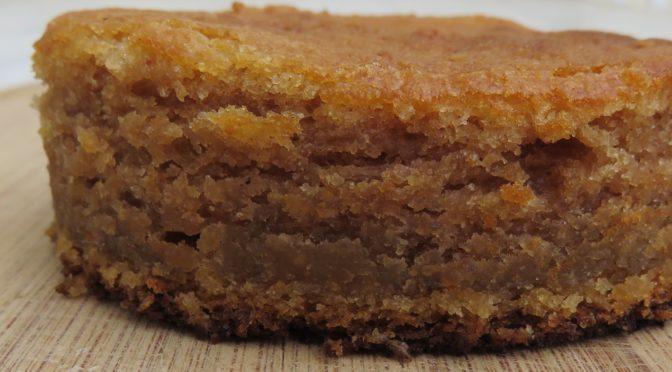 La recette du mois : Le gâteau à la confiture de châtaignes