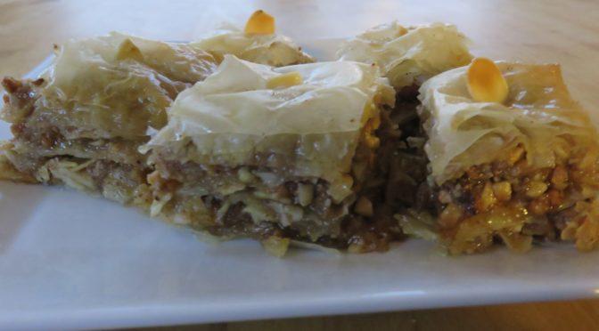 La recette du mois : les Baklavas