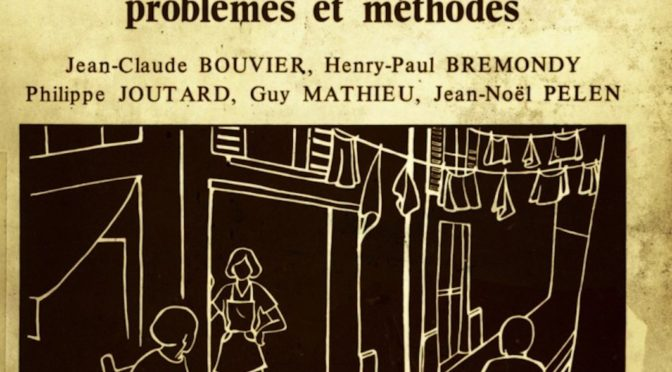 Méthodologie de l'histoire orale à Aix-en-Provence : une conférence sur les « ethnotextes » de Jean-Claude Bouvier en 1981