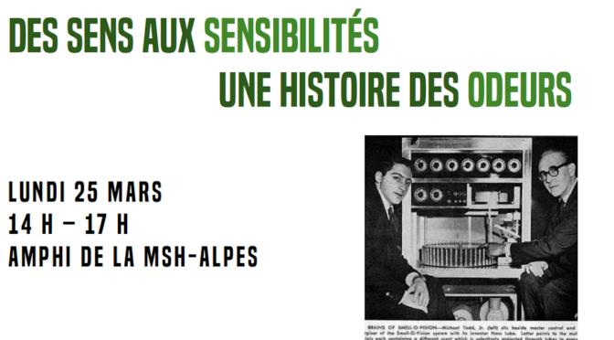 Cultures sonores et sensibles : des sens aux sensibilité, une histoire des odeurs