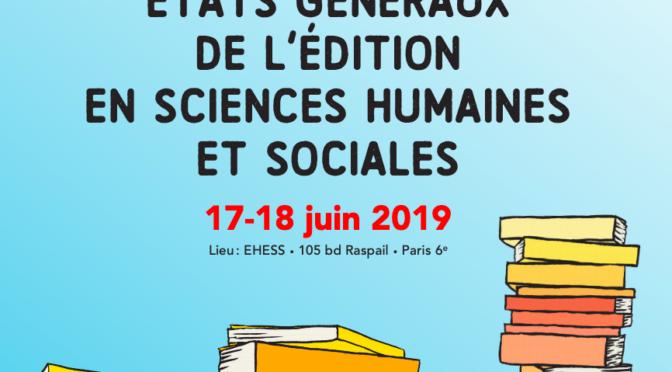 La phonothèque aux états généraux de l'édition en sciences humaines et sociales
