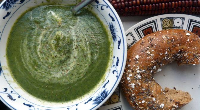 La recette du mois : orties ou fanes de radis, bonnes pour la soupe