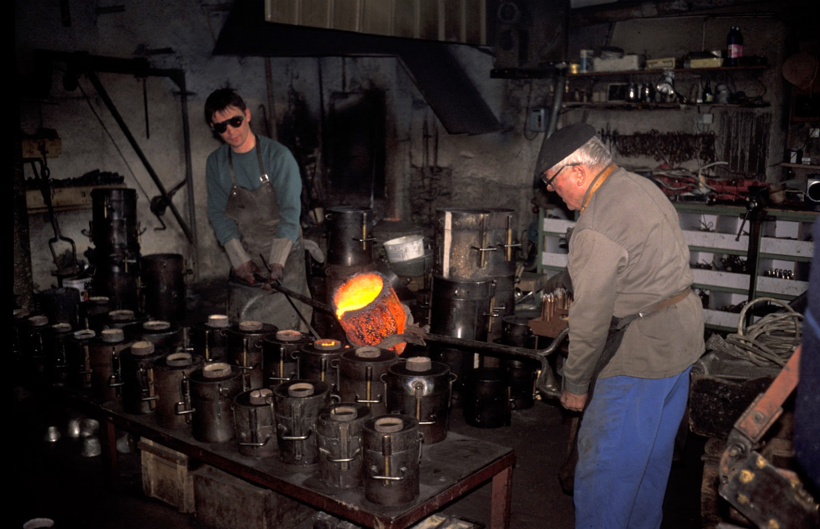 fabrication de cloches