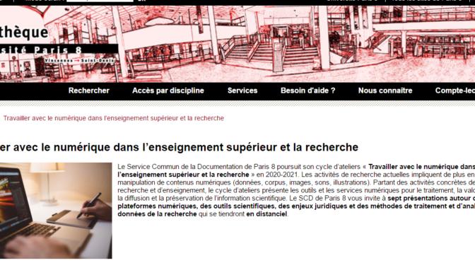accueil scd paris 8