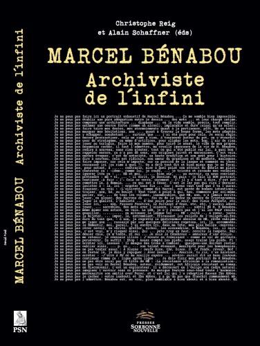 Couverture livre Marcel Bénabou