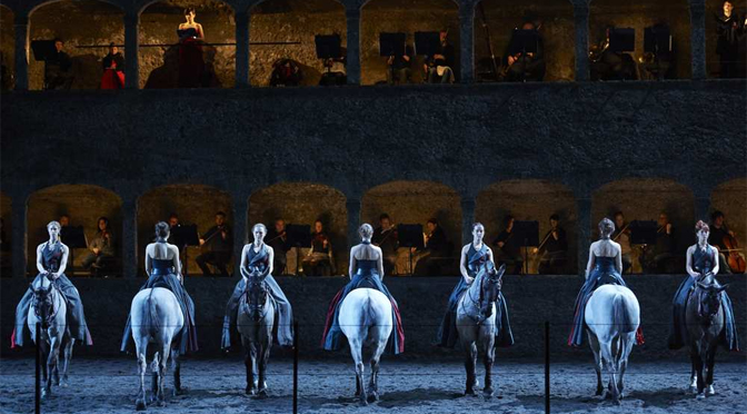 Mozart à cheval à Salzbourg