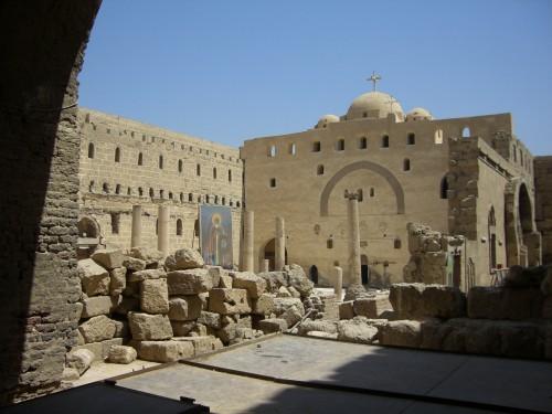 Monastère Blanc, intérieur