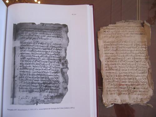 Le folio perdu du Panaghia 157 a été retrouvé et remis en place